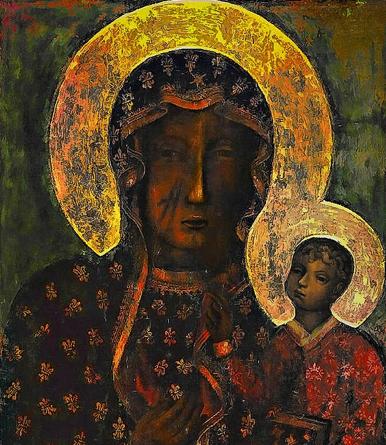 The Black Madonna (by Patrick Collins)